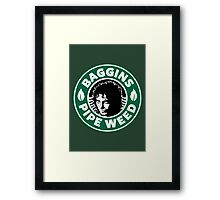 Baggins Pipeweed Framed Print