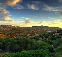 Sardinia - Sunset at Porto Istana, Costa Smeralda by TigerOPC