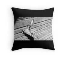 Hawk moth Throw Pillow