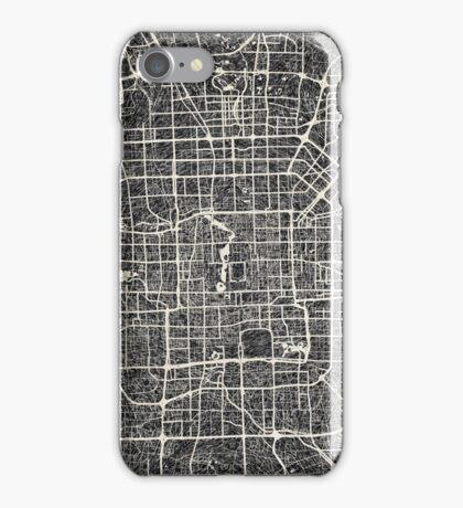 Beijing map iPhone Case/Skin