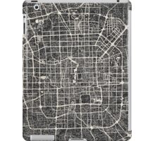 Beijing map iPad Case/Skin