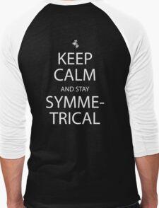 soul eater keep calm and stay symmetrical anime manga shirt Men's Baseball ¾ T-Shirt