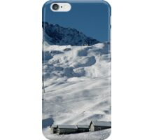 Swiss Winter Snow Scene iPhone Case/Skin
