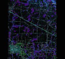 USGS Topo Map Oregon Hillsboro 280213 1961 24000 Inverted by wetdryvac