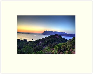 Sardinia - Sunset at Capo Coda Cavallo by TigerOPC