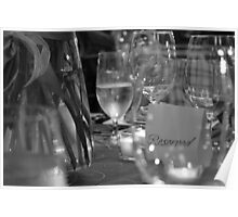 A Table Reserved Poster