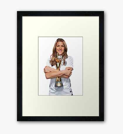 Kelley O'Hara - World Cup Framed Print