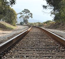 On Track Towards the Unknown by Anthony Pipitone