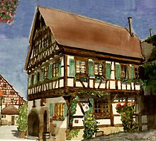 Beautiful Germany  Bietigheim by Marie Luise  Strohmenger