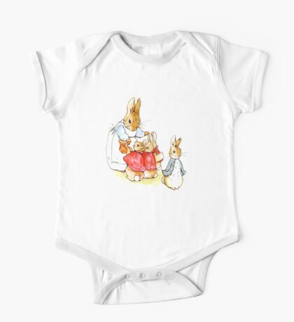 Peter Rabbit and Family One Piece - Short Sleeve