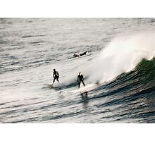 Casual Surfers Photographic Print