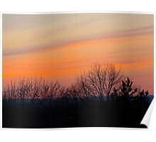 The pastel sides of sunsets Poster