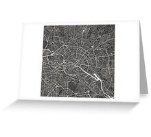 Berlin map Greeting Card