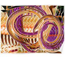 Twirling Poker Poster