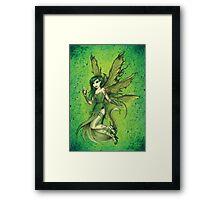 Absinthe Fairy Framed Print