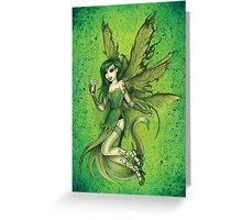 Absinthe Fairy Greeting Card
