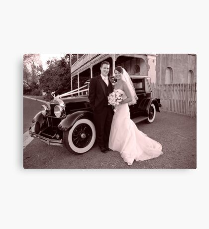 """Classic Amour"" Canvas Print"