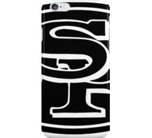 San Fransisco 49ers logo 1 iPhone Case/Skin