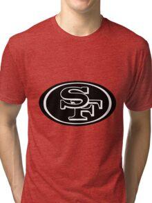 San Fransisco 49ers logo 1 Tri-blend T-Shirt