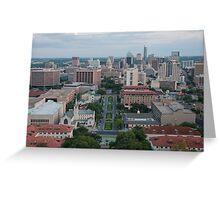 Austin TX Skyline Greeting Card