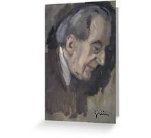 Jules Alexandre Grün Jean Louis Forain Greeting Card