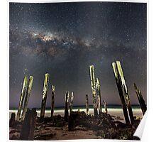 Port Willunga Stars Poster