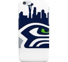 Seattle Seahawks logo 1 iPhone Case/Skin