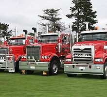 Mack- V- Western Star Power by PaulWJewell
