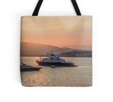 France Cannes Festival Cruisers Sunset Tote Bag