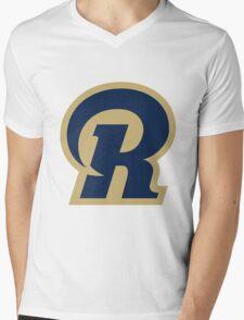 St. Louis Rams logo 1 Mens V-Neck T-Shirt