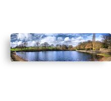 Chellow Dene ~ Panoramic HDR ~ Canvas Print