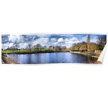 Chellow Dene ~ Panoramic HDR ~ Poster