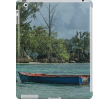 Seychelles Simple Rowing Boat Exotic Location iPad Case/Skin