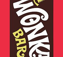 Wonka Bar Iphone Case by UnderCutCase13