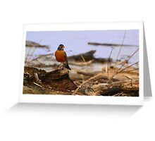 Spring Roost Greeting Card