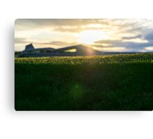 Silverstone at Dusk Canvas Print