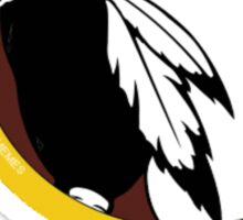 Washington Redskins logo Sticker