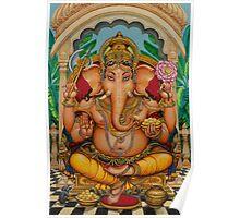 Ganapati darshan Poster