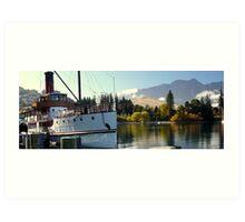 Queenstown New Zealand Art Print