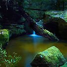 The Pond - Terrace Falls by Mark  Lucey