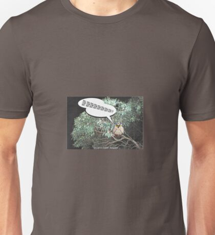 The Elusive Owl Unisex T-Shirt