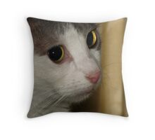 The Cat's Eyes Throw Pillow