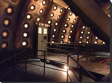 Inside the Tardis by ChrissieXe