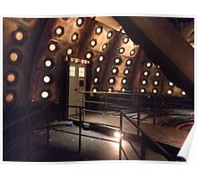 Inside the Tardis Poster