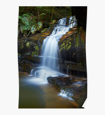 The Ledge - Terrace Falls  Poster