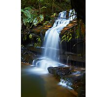 The Ledge - Terrace Falls  Photographic Print