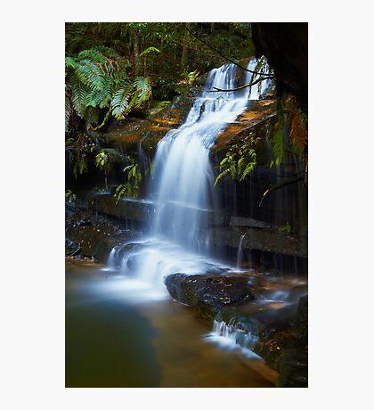 The Ledge - Terrace Falls  Photographic Print