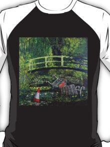 Waterlilies - Nature in the Future T-Shirt