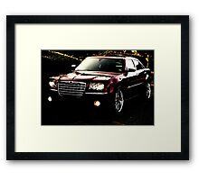 Chrysler 300 Touring  Framed Print