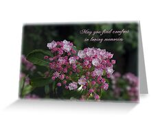 A Pink Bunch Greeting Card